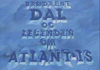 Brødrene Dal og legenden om Atlant-is logo og vignett for tv-serie 1994