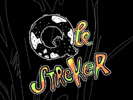 Qle streker logo og vignett for tv-serie 1996