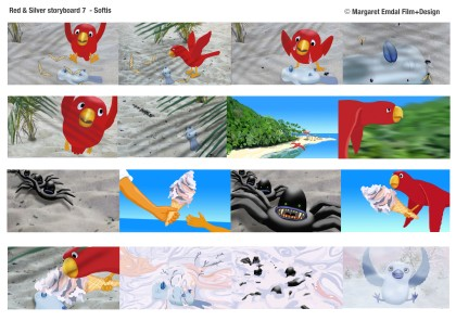 Red & Silver Storyboard 7